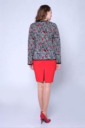 #92412 Жакет (Ankoli) Черный/красный