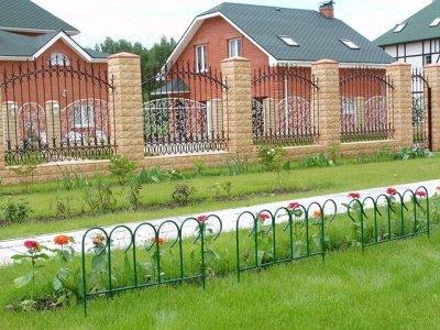 Наша грядка- 3☘️ — Заборчики и ограждения — Садовый декор