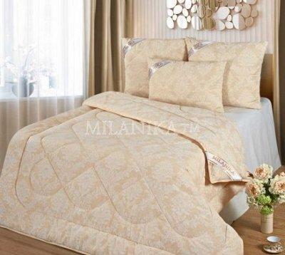 Спим наслаждаясь! Осенние Акции! — Одеяла Премиум Лайт - Жаккард — Полутороспальные
