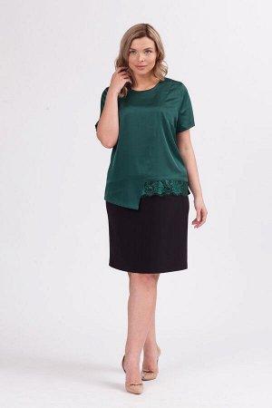 Блуза Б-9 зеленый