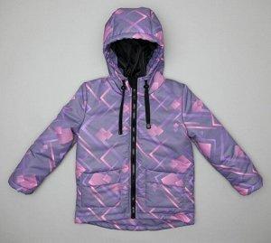 2516 Куртка для девочки демисезонная