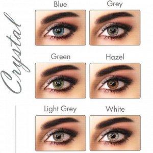 Перекрывающие цветные контактные линзы ADORE Crystal (Eyemed, Италия)