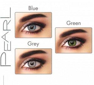Перекрывающие цветные контактные линзы ADORE Pearl (Eyemed, Италия) ПЛЮСОВЫЕ