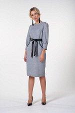 Платье Карина №2. Цвет:серый