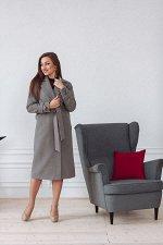 Пальто женское демисезонное 22530  (серый)