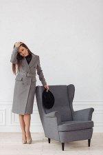Пальто женское демисезонное 22510  (серый)