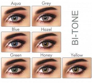 Перекрывающие цветные контактные линзы (EyeMed) ADORE DIOPTR Линейка BI (2 линзы)