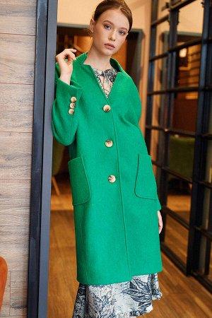 Пальто Цвет: зелёный