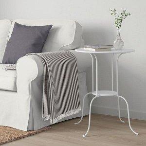 LINDVED ЛИНДВЕД Придиванный столик, белый 50x68 см
