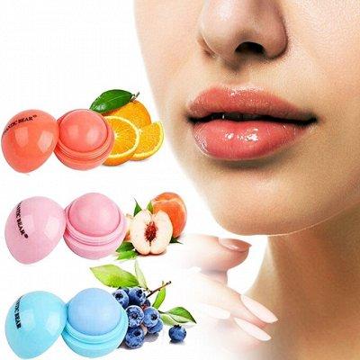 ⚡Мега Закупка косметики!1000 новинок!⚡  — Увлажняющий бальзам для губ с Алоэ и Авокадо! — Уход для век и губ
