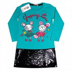 Платье для девочки 110-128 BONITO, BON1286