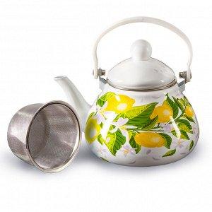 """Чайник 1,3 л с фильтром EM-131X1/62 """"Лимоны"""""""