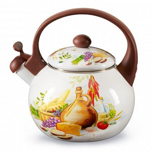 "Чайник 2,5 л со свистком ЕМ-25101/65 ""Валенсия"""