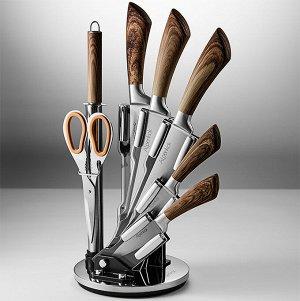 Набор ножей на акриловой подставке 8 предметов AK-2110
