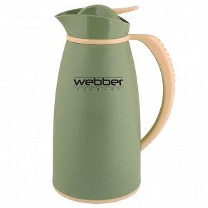 Термос-кувшин 1,0л Webber 31004/13S серо-зеленый