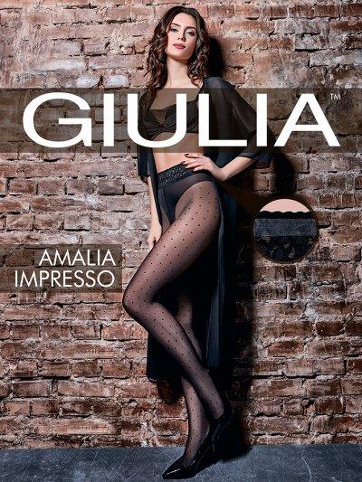"""Колготки GIULIA 30 — Giulia - линия 'Impresso"""" — Колготки"""