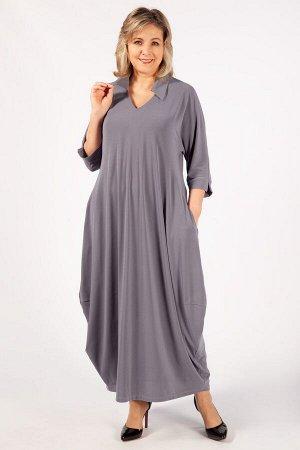Платье Эмили светло-серый