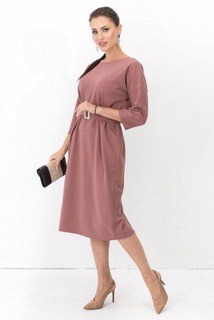 Платье двустороннее Лилит (2в1 розовая пудра) П1228-11