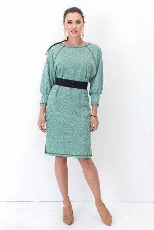 Платье Элли (мята) с пояском П1236-15
