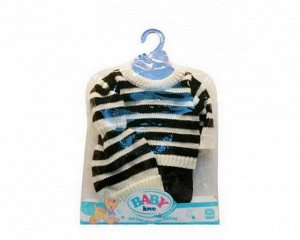 Одежда для кукол: шапочка, кофточка и штаны, размер: 30x20см15