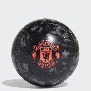 Мяч футбольный Модель: MUFC CPT BLACK/GRETHR/APSORD Бренд: Adi*das