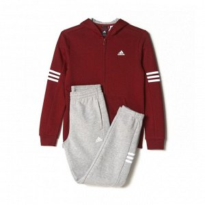 Спортивный костюм детский Модель: YB HOJO SUIT CH CBURGU/MGREYH/WHITE Бренд: Adi*das