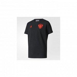 Футболка детская Модель: RFU SSP TEE Y BLACK/RED Бренд: Adi*das