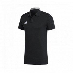 Рубашка поло мужская Модель: CON18 CO POLO BLACK/WHITE Бренд: Adi*das