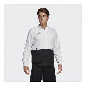 Ветровка мужская Модель: CON18 PRE JKT WHITE/BLACK Бренд: Adi*das