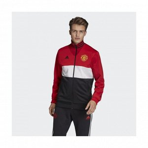 Джемпер мужской Модель: MUFC 3S TRK TOP REARED/WHITE/BLACK Бренд: Adi*das