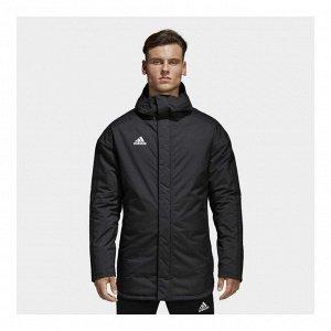 Куртка мужская Модель: JKT18 STD PARKA BLACK/WHITE Бренд: Adi*das