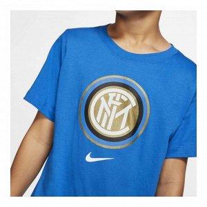 Футболка детская Модель: INTER B NK TEE EVERGREEN CREST Бренд: Ni*ke