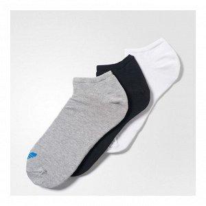 Носки Модель: TREFOIL LINER WHITE/BLACK/MGREYH Бренд: Adi*das