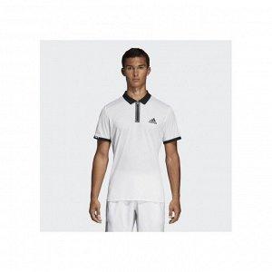 Рубашка поло мужская Модель: ESCOUADE POLO WHITE/BLACK Бренд: Adi*das