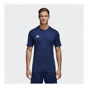 Футболка мужская Модель: CORE18 JSY DKBLUE/WHITE Бренд: Adi*das