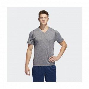 Футболка мужская Модель: FL_SPR X UL V H BLACK/HTHR Бренд: Adi*das