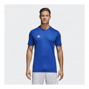 Футболка мужская Модель: CORE18 JSY BOBLUE/WHITE Бренд: Adi*das