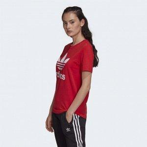 Футболка женская Модель: TREFOIL TEE Бренд: Adi*das