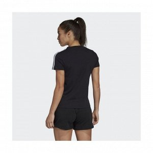 Футболка женская Модель: W E 3S SLIM TEE BLACK/WHITE Бренд: Adi*das