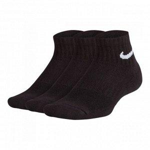 Носки Модель: Kids' Ni*ke Performance Cushioned Quarter Training Socks (3 Pair) Бренд: Ni*ke