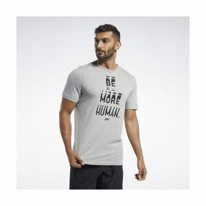 Футболка мужская Модель: GS Human Crew Tee Бренд: Reeb*ok