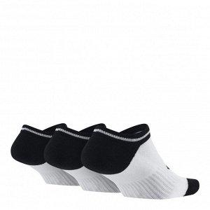 Носки Модель: Women's Ni*ke Sportswear Striped No-Show Socks (3 Pairs) Бренд: Ni*ke