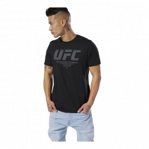 Футболка мужская Модель: UFC FG LOGO TEE BLACK Бренд: Reeb*ok