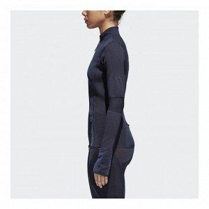Куртка женская Модель: RUN KNIT ML LEGBLU Бренд: Adi*das