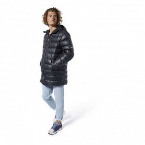 Куртка мужская Модель: CL DOWN LONG JACKET BLACK Бренд: Reeb*ok