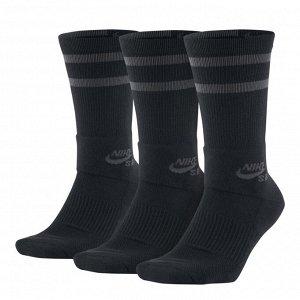 Носки Модель: Unisex Ni*ke SB Crew Skateboarding Socks (3 Pairs) Бренд: Ni*ke