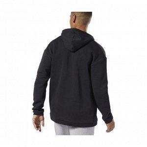 Джемпер мужской Модель: WOR FLEECE FZ HOOD BLACK Бренд: Reeb*ok