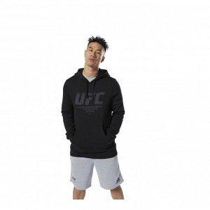 Джемпер мужской Модель: UFC FG PULLOVER HOO BLACK Бренд: Reeb*ok