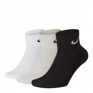 Носки Модель: 3PPK VALUE COTTON QUARTER (S,M Бренд: Ni*ke