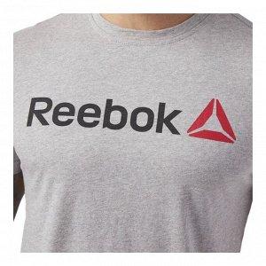 Футболка мужская Модель: QQR- Reeb*ok Linear Read Бренд: Reeb*ok